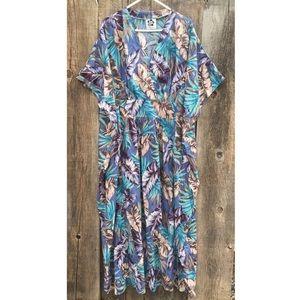 Hilo Hattie Kimono, Kaftan, MuuMuu Hawaiian Dress